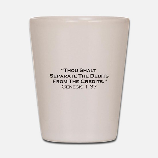 Credits / Genesis Shot Glass