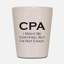 CPA #3 Shot Glass