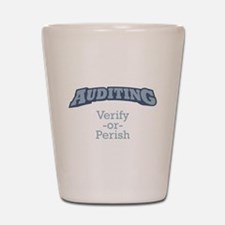 Auditing / Verify Shot Glass