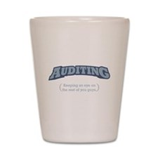 Auditing - Eye Shot Glass