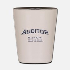 Auditor - Work Shot Glass