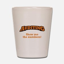 Auditing / Numbers Shot Glass