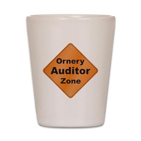Ornery Auditor Shot Glass