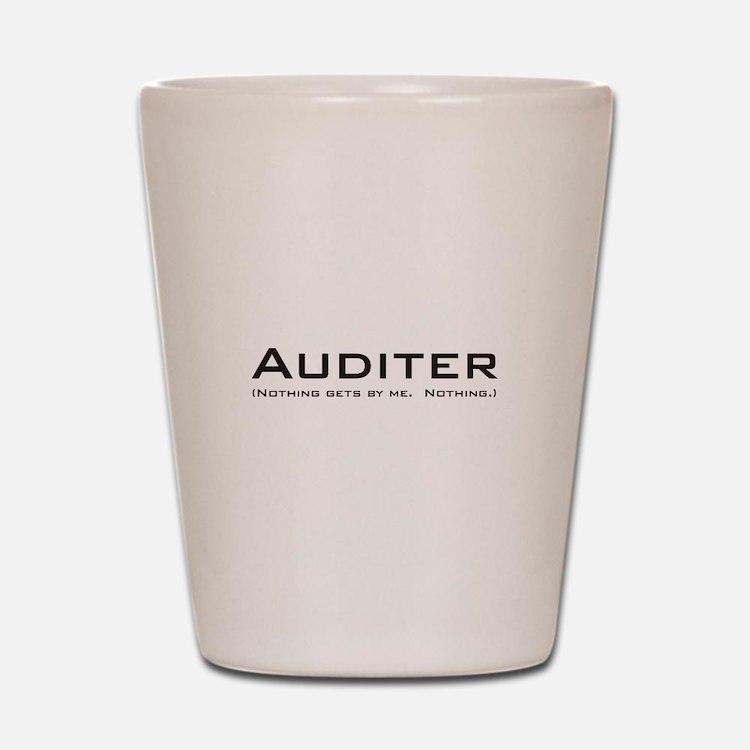 Auditer Shot Glass