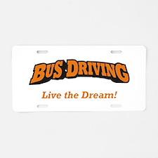 Bus Driving / LTD Aluminum License Plate