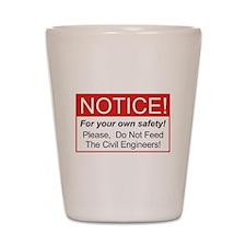 Notice / Civil Eng. Shot Glass