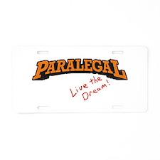 Paralegal / Live Aluminum License Plate