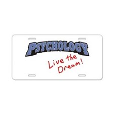 Psychology-LTD Aluminum License Plate