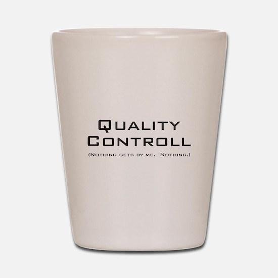 Q Controll Shot Glass