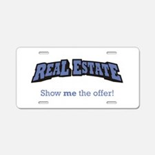Real Estate / Offer Aluminum License Plate
