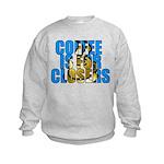 Coffee is for Closers Blue Kids Sweatshirt