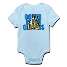Coffee is for Closers Blue Infant Bodysuit
