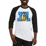 Coffee is for Closers Blue Baseball Jersey