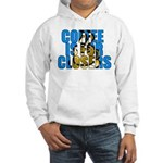 Coffee is for Closers Blue Hooded Sweatshirt
