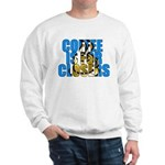 Coffee is for Closers Blue Sweatshirt