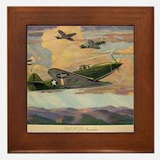 Airacobras Framed Tile