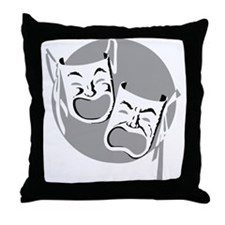 The Theater Throw Pillow