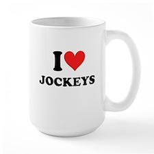 I Heart Jockeys: Mug