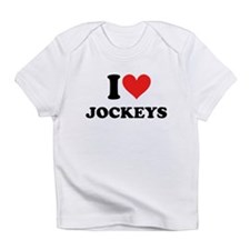 I Heart Jockeys: Infant T-Shirt