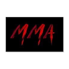 MMA Wall Decal