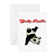 Goofy Panda Greeting Cards (Pk of 10)