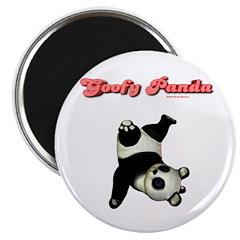 Goofy Panda Magnet