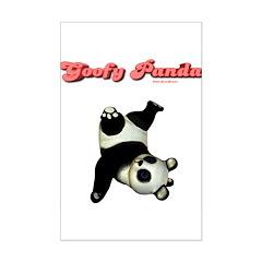 Goofy Panda Posters