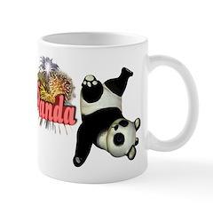 Goofy Panda Mug