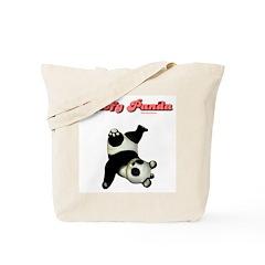 Goofy Panda Tote Bag