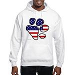 Patriotic Paw Hooded Sweatshirt