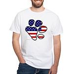 flag_paw_flat_design T-Shirt