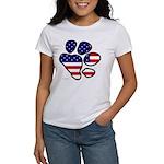 Patriotic Paw Women's T-shirt