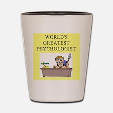 psychology gifts t-shirts Shot Glass