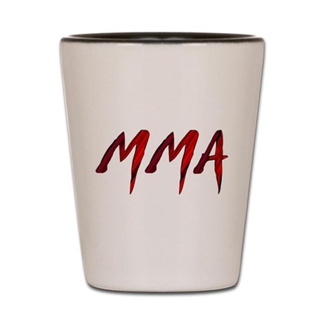 MMA Shot Glass