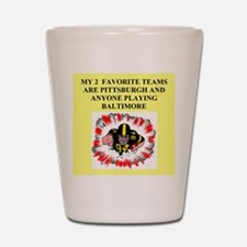 steeler gifts and t-shirts Shot Glass