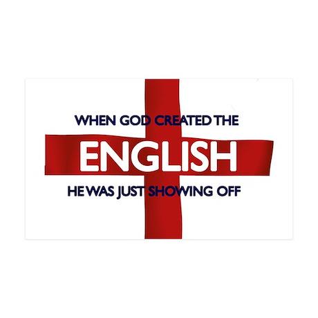 England Flag St George's Day 38.5 x 24.5 Wall Peel