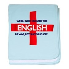 England Flag St George's Day baby blanket