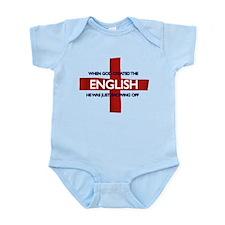 England Flag St George's Day Infant Bodysuit