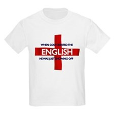 England Flag St George's Day T-Shirt
