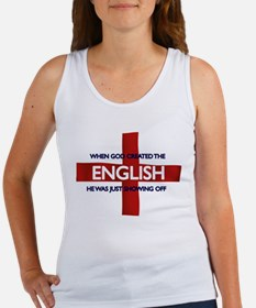 England Flag St George's Day Women's Tank Top