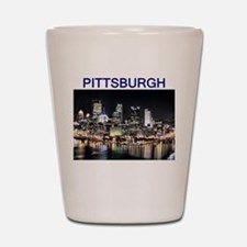 pittsburgh gifts and tee-shir Shot Glass