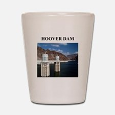 hoover dam gifts and t-shirts Shot Glass