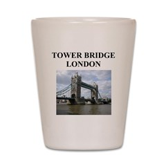 tower bridge london gifts and Shot Glass