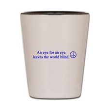 gail's peace gifts Shot Glass