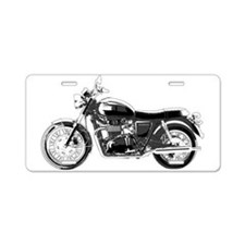 Bonneville Aluminum License Plate