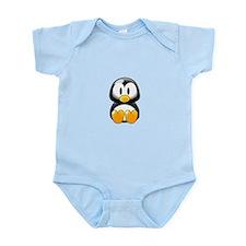 Cartoon Penguin Infant Bodysuit