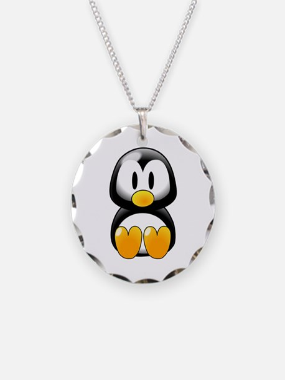 Cartoon Penguin Necklace