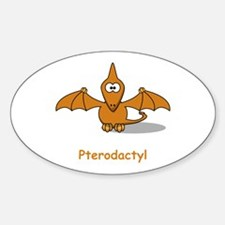 Cartoon Pterodactyl Decal
