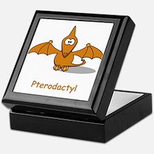 Cartoon Pterodactyl Keepsake Box