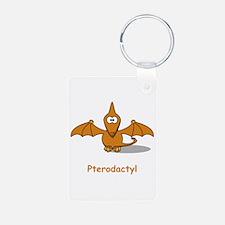 Cartoon Pterodactyl Keychains